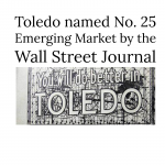 Toledo named number 25 emerging market in the US by the Wall Street Journal